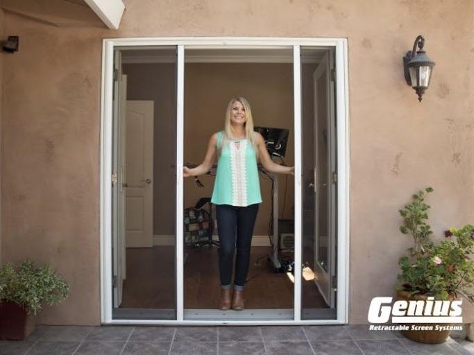 French Door Retractable Screen 2