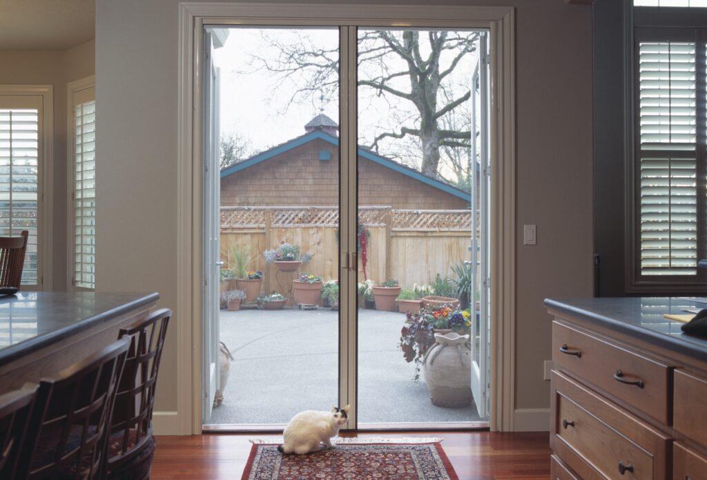 French Retractable Screen Door 2