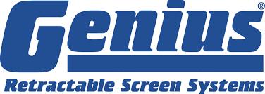 Retractable Screen Doors - Genius Brand Logo
