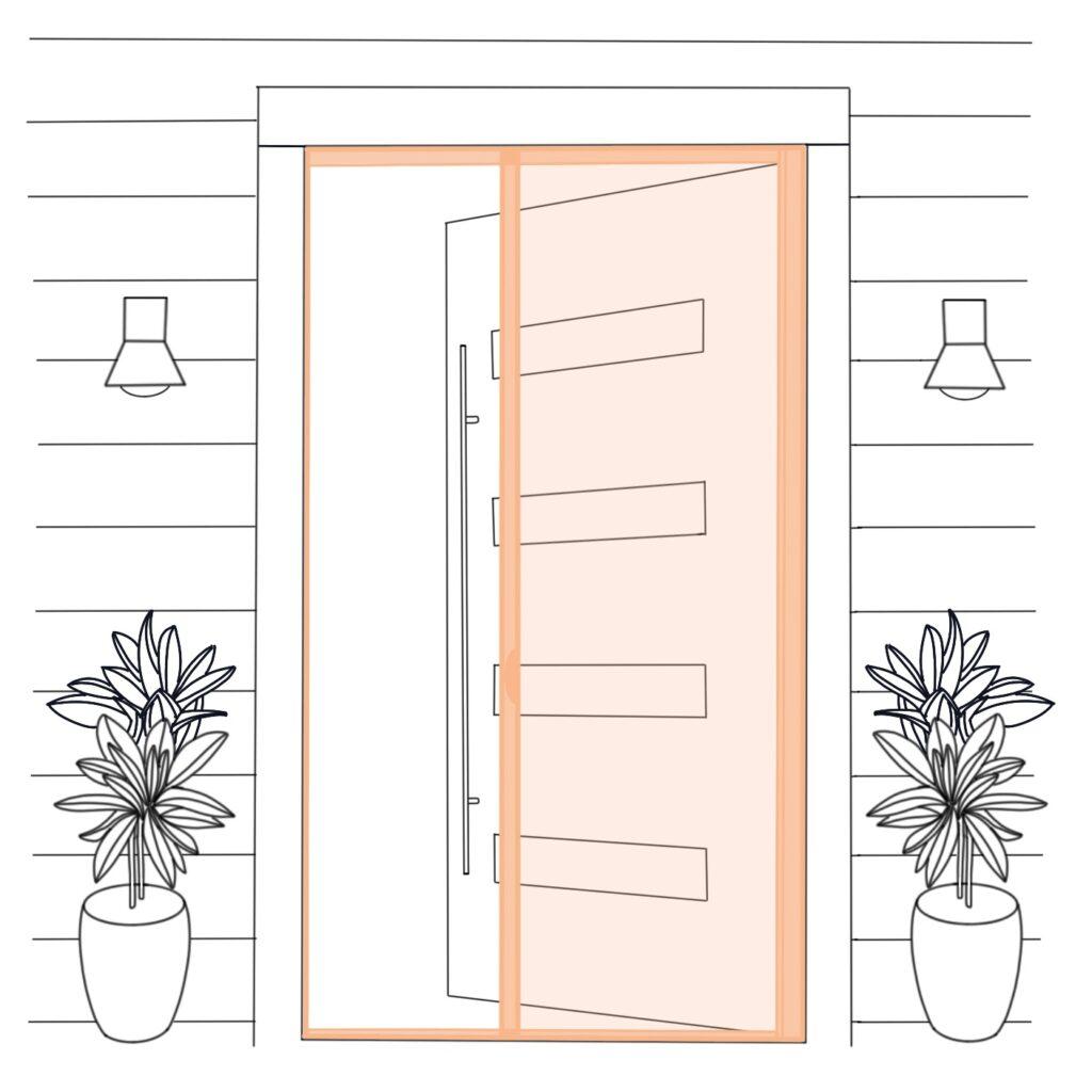 blueprint single door no labels